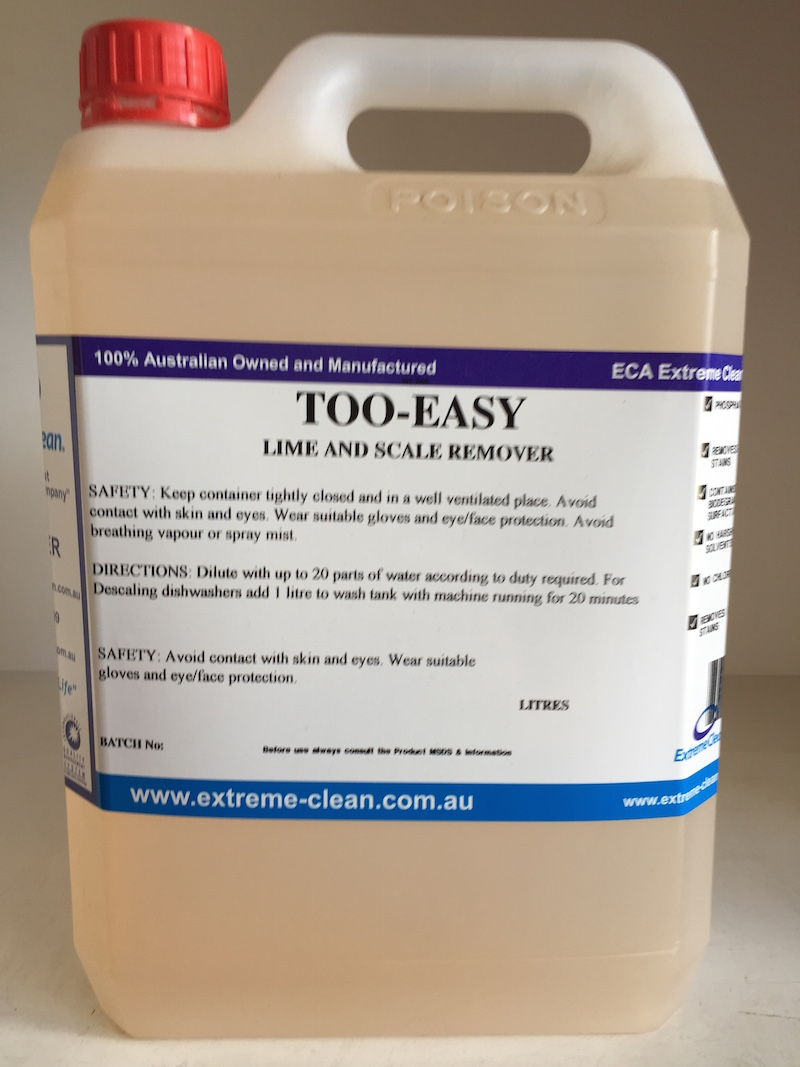 Too Easy   ECA Cleaning Product