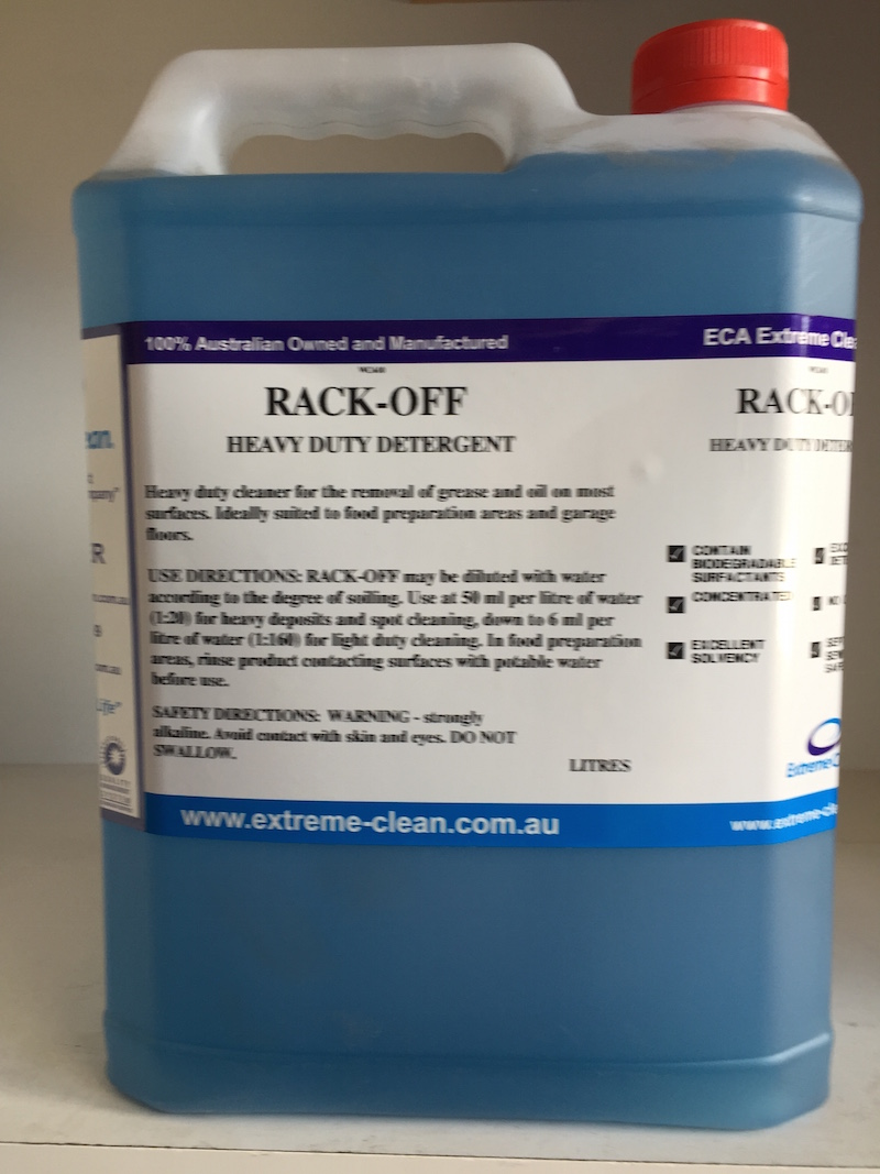 Rack Off | ECA Cleaning Product